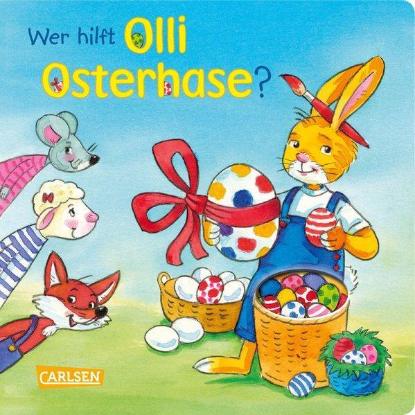 Wer hilft Olli Osterhase? (Mängelexemplar)