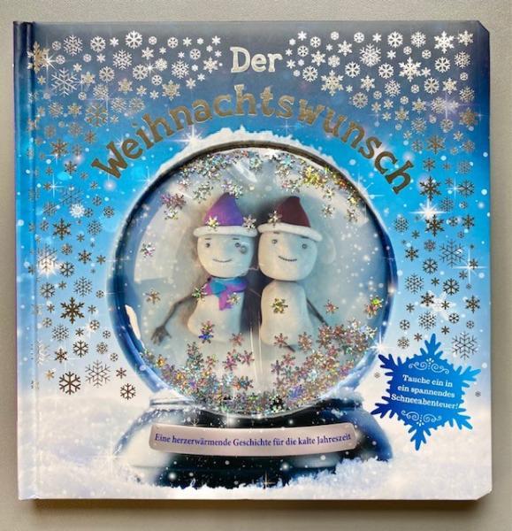 Der Weihnachtswunsch Gllitzerfensterbuch (Mängelexemplar)