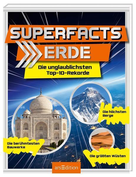 Superfacts Erde - Die unglaublichsten Top-10-Rekorde