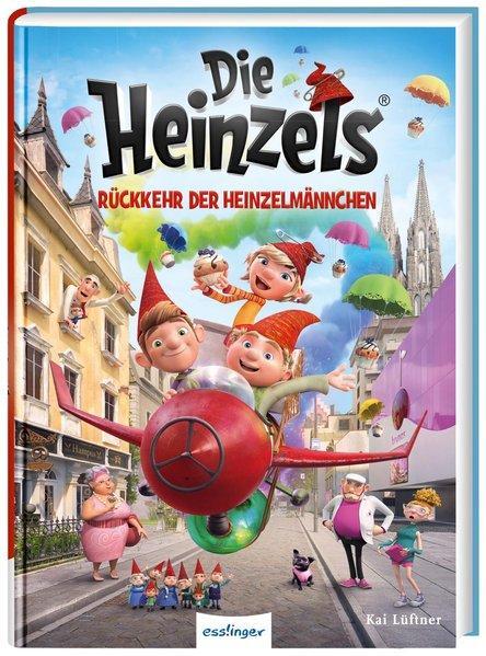 Die Heinzels: Rückkehr der Heinzelmännchen - Filmbuch (Mängelexemplar)
