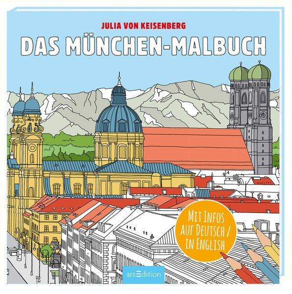 Das München-Malbuch (Mängelexemplar)
