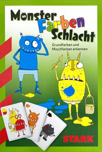 Kartenspiel Monster-Farben-Schlacht - Grundfarben und Mischfarben erkennen