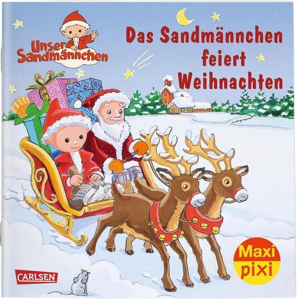 Maxi Pixi 300: Das Sandmännchen feiert Weihnachten (Mängelexemplar)
