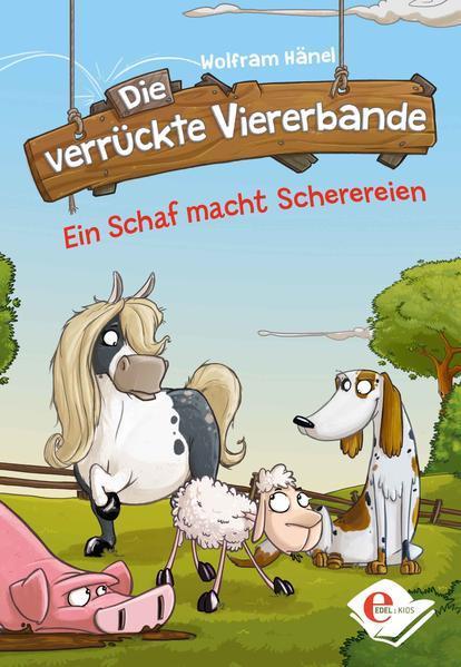 Die verrückte Viererbande - Ein Schaf macht Scherereien (Mängelexemplar)