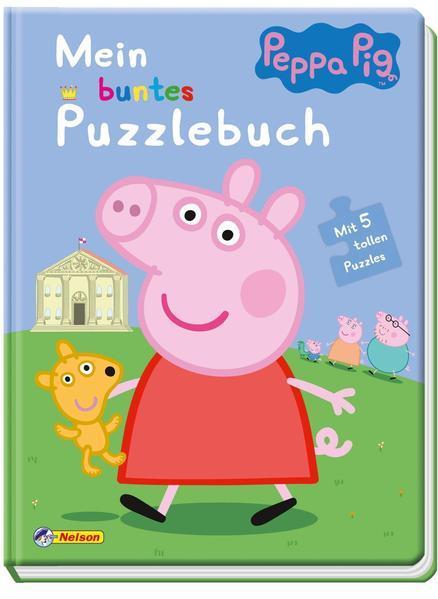 Peppa: Mein buntes Puzzlebuch - Kinderbeschäftigung ab 3 Jahren (Mängelexemplar)