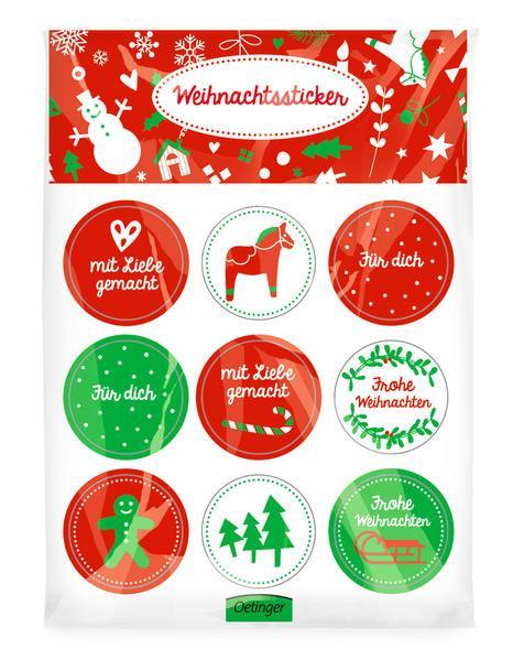 Weihnachtssticker