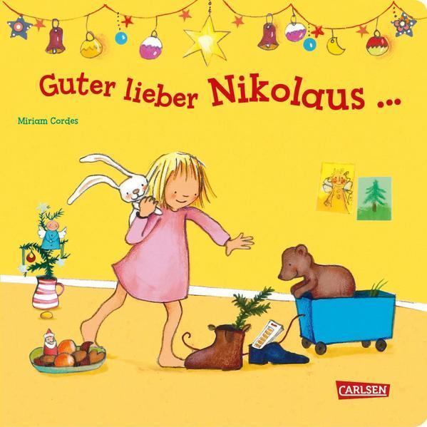 Guter lieber Nikolaus ... - Weihnachtliches Pappbilderbuch ab 2 Jahren (Mängelexemplar)