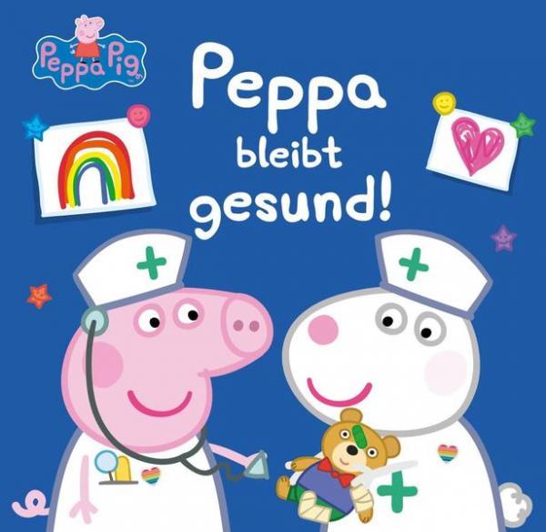 Peppa: Peppa bleibt gesund! - Gesundheitstipps für Kita-Kinder! (Mängelexemplar)