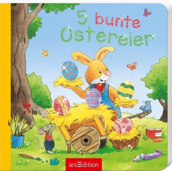 5 bunte Ostereier