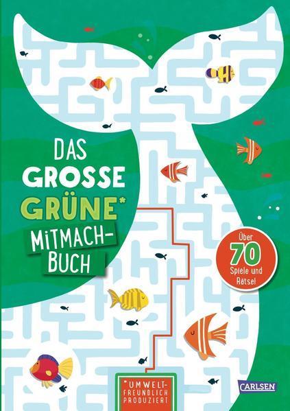 Das große grüne Mitmachbuch (Mängelexemplar)