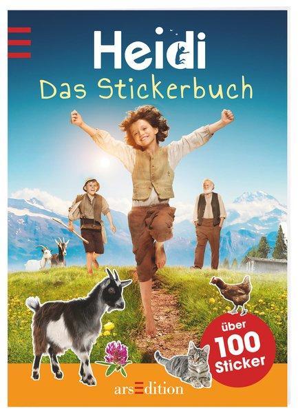 Heidi - Das Stickerbuch - Mit über 100 Stickern und 2 Szenen zum Ausklappen