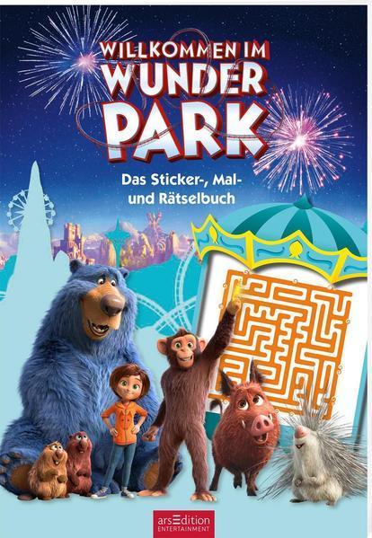 Willkommen im Wunder Park - Das Sticker-, Mal- und Rätselbuch (Mängelexemplar)