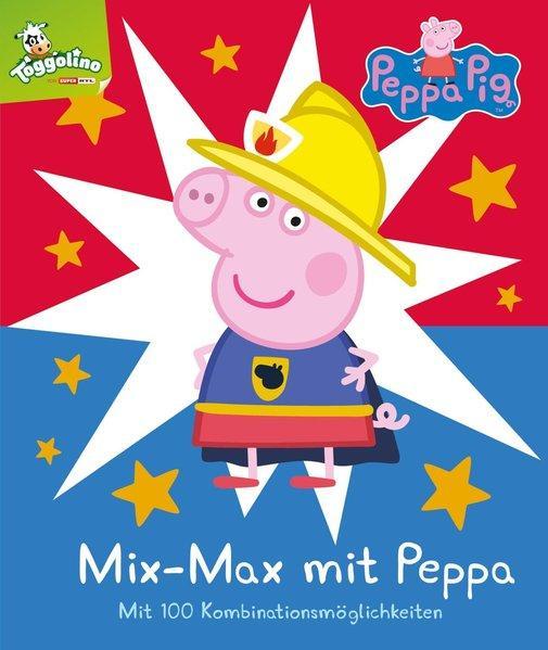 Mix-Max mit Peppa - Mit 100 Kombinationsmöglichkeiten (Mängelexemplar)