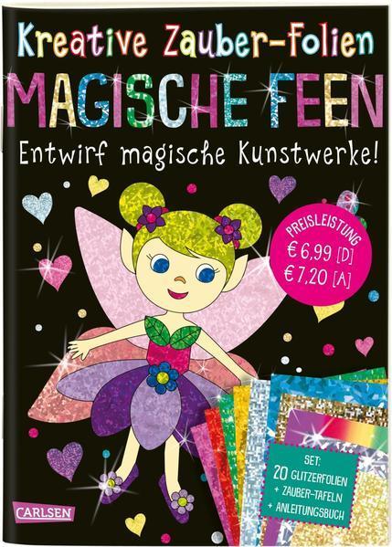 Kreative Zauber-Folien: Magische Feen: Set mit 10 Zaubertafeln, 20 Folien (Mängelexemplar)
