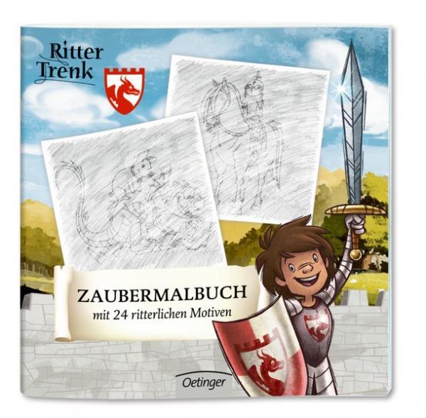 Ritter Trenk Zaubermalbuch - mit 24 ritterlichen Motiven