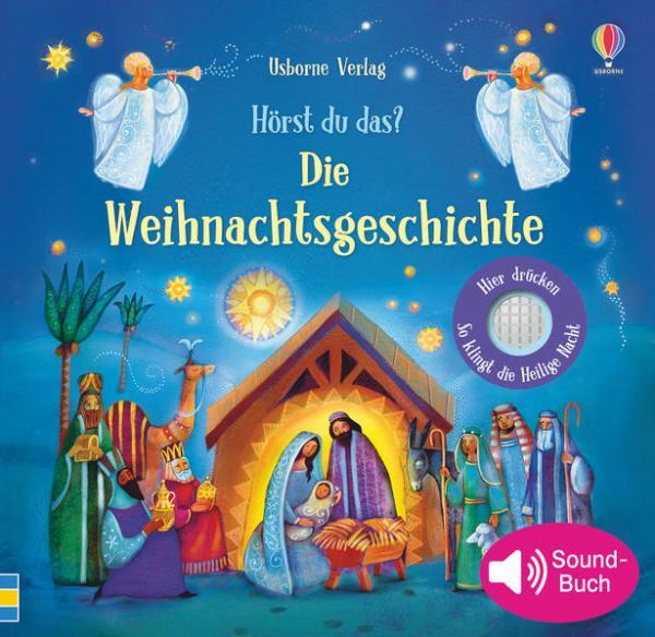 Hörst du das? Die Weihnachtsgeschichte (Mängelexemplar)