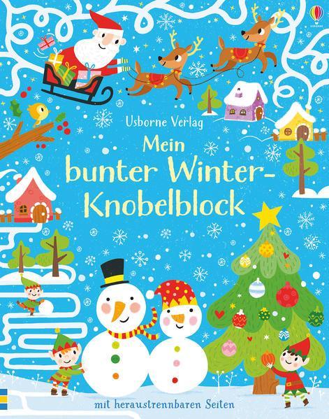 Mein bunter Winter-Knobelblock (Mängelexemplar)