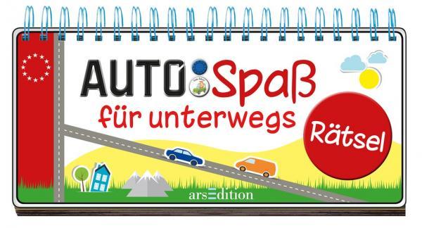 Auto-Spaß für unterwegs - Rätsel (Mängelexemplar)