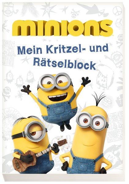 Minions: Mein Kritzel- und Rätselblock (Mängelexemplar)