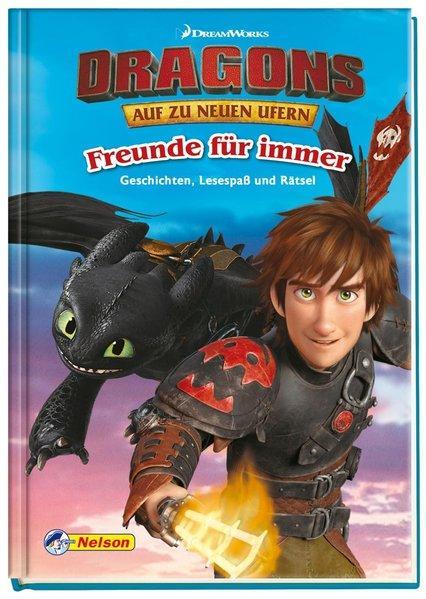 DreamWorks Dragons: Freunde für immer - Lesespaß und Rätsel