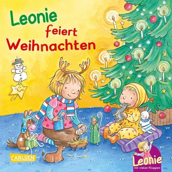Leonie: Leonie feiert Weihnachten - Pappbilderbuch ab 18 Monaten