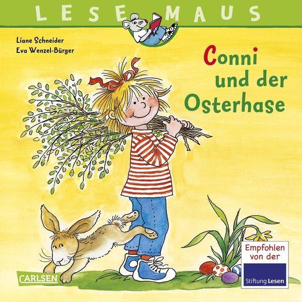 LESEMAUS 77: Conni und der Osterhase - mit zwei tollen Conni-Osterpostkarten (Mängelexemplar
