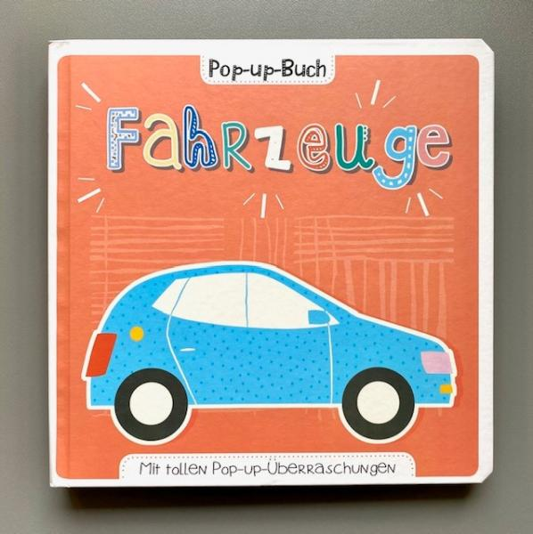 Fahrzeuge - Pop-up-Buch (Mängelexemplar)