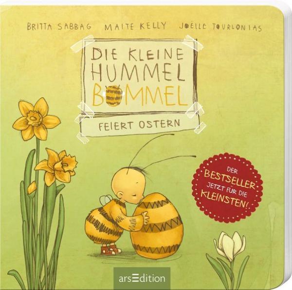 Die kleine Hummel Bommel feiert Ostern (Pappbilderbuch) (Mängelexemplar)