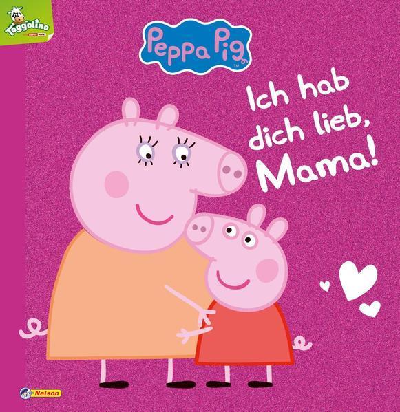 Peppa: Ich hab dich lieb, Mama! - Mit tollem Glitzer (Mängelexemplar)