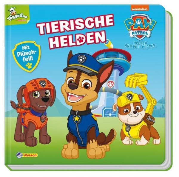 PAW Patrol: Tierische Helden Fühl-Bilderbuch - Mit Plüsch-Fell zum Streicheln (Mängelexemplar)