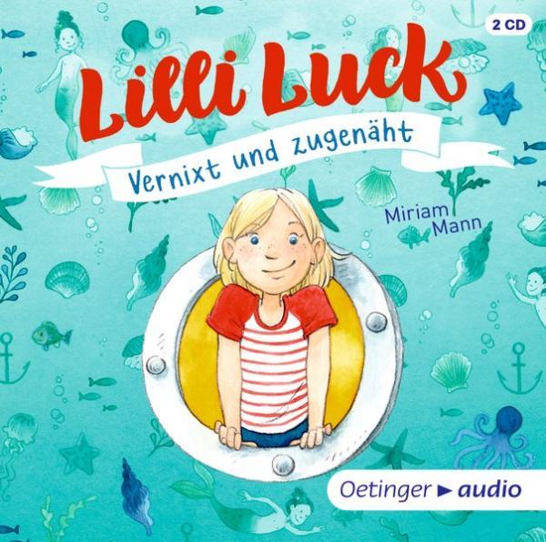 Hörbuch: Lilli Luck Vernixt und zugenäht (3 CD) - Band 1, Ungekürzte Lesung, ca. 150 min.