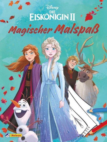 Disney Die Eiskönigin 2: Magischer Malspaß - 80 Ausmalseiten (Mängelexemplar)