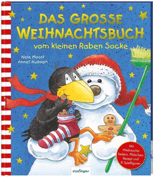 Der kleine Rabe Socke: Das große Weihnachtsbuch vom kleinen Raben Socke (Mängelexemplar)