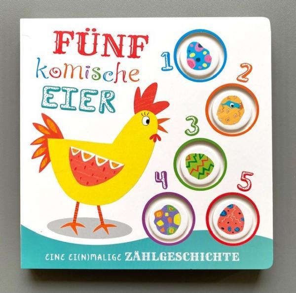Fünf komische Eier - eine ei(n)malige Zählgeschichte (Mängelexemplar)