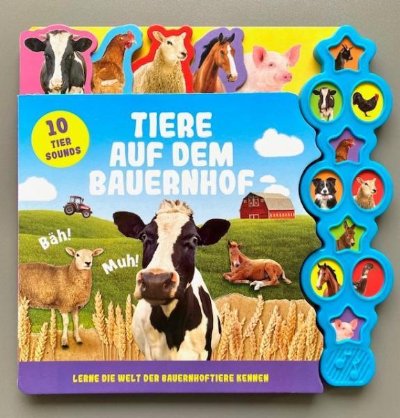 Tiere auf dem Bauernhof - Soundbuch (Mängelexemplar)