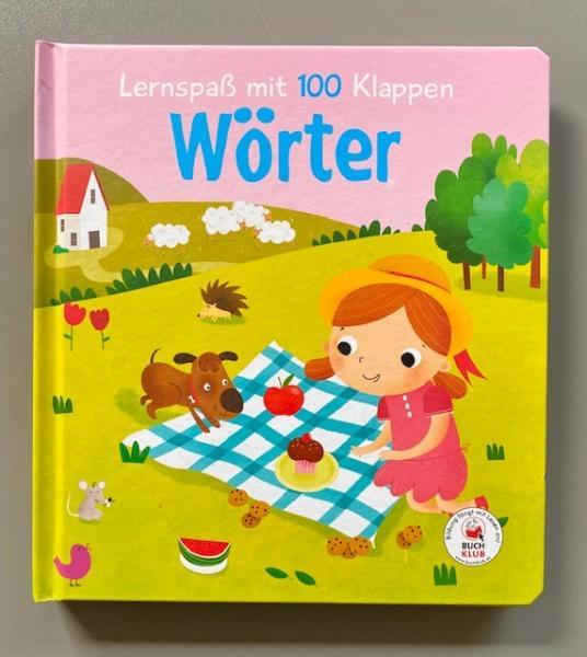 Lernspaß mit 100 Klappen - Wörter (Mängelexemplar)