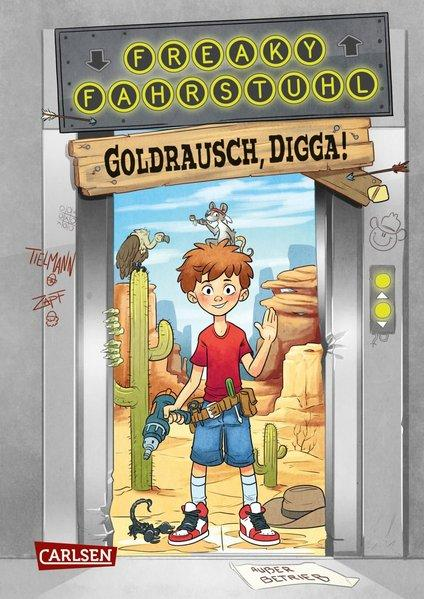 Freaky Fahrstuhl 1: Goldrausch, Digga! (Mängelexemplar)