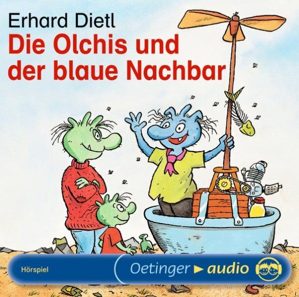 Hörbuch: Die Olchis und der blaue Nachbar - Szenische Lesung