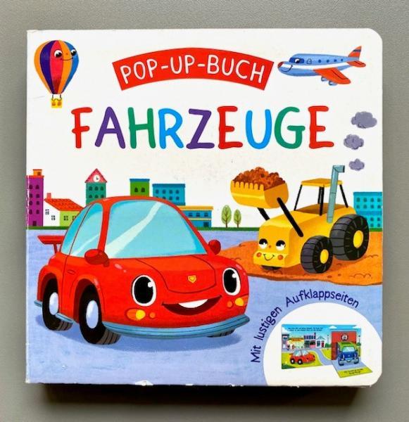 Pop-up-Buch Fahrzeuge (Mängelexemplar)