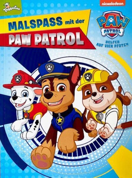 Malspaß mit PAW Patrol (Mängelexemplar)