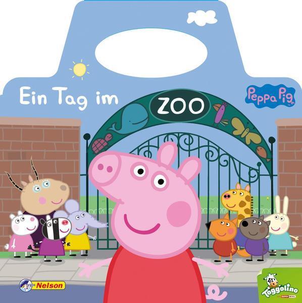 Peppa Pig: Ein Tag im Zoo - Mit praktischem Tragegriff (Mängelexemplar)