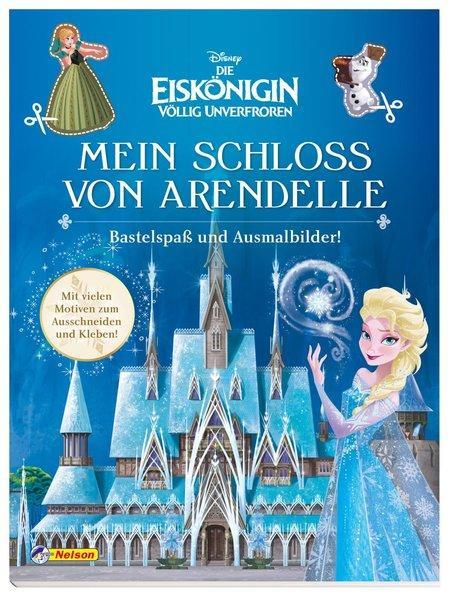 Disney Die Eiskönigin: Mein Schloss von Arendelle - Bastelspaß und Ausmalbilder! (Mängelexemplar)