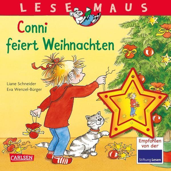 LESEMAUS 58: Conni feiert Weihnachten - Mit weihnachtlichem Anhänger (Mängelexemplar)