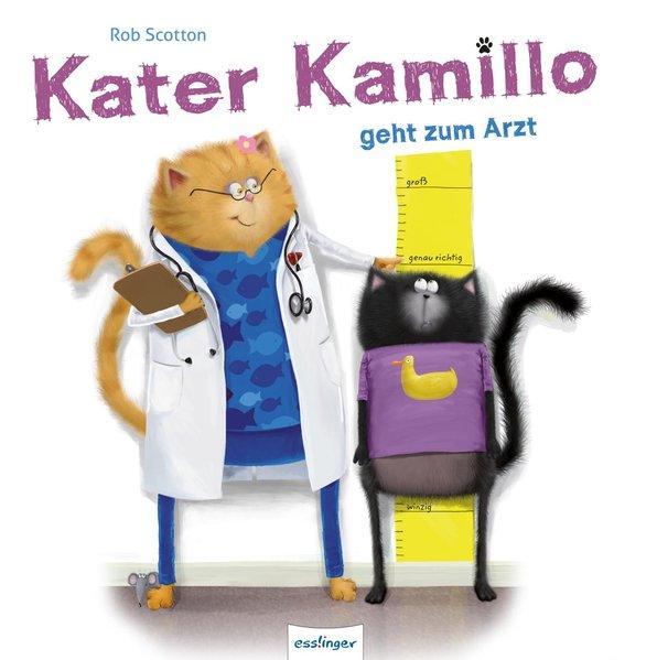 Kater Kamillo geht zum Arzt (Mängelexemplar)