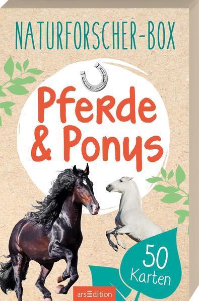 Naturforscher-Box - Pferde & Ponys - mit 50 Karten
