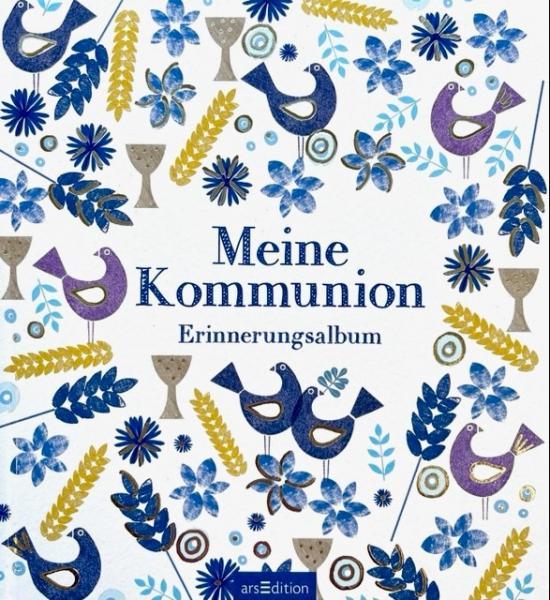 Meine Kommunion - Erinnerungsalbum (weiß)
