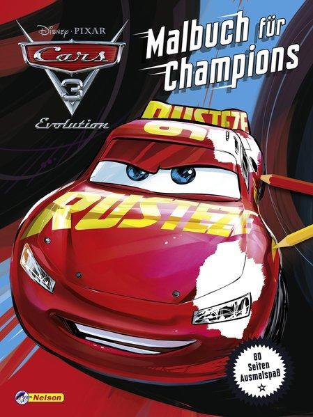 Disney Cars 3: Malbuch für Champions (Mängelexemplar)