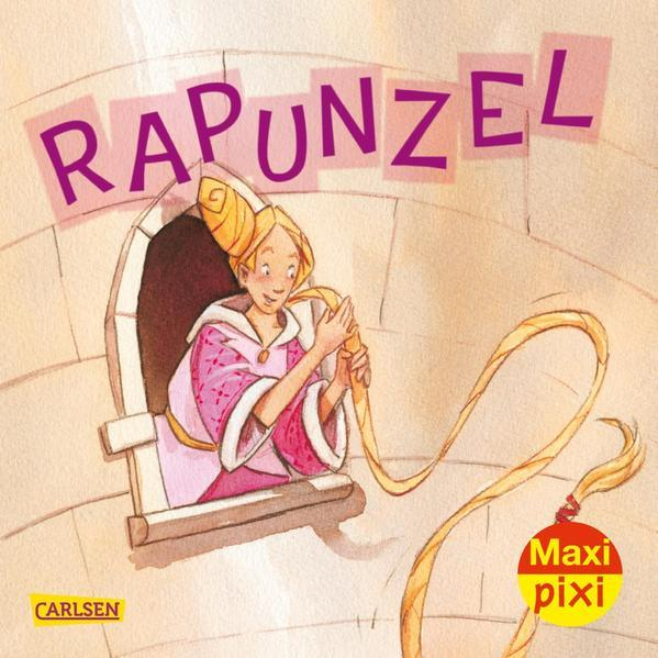 Maxi Pixi 341: Rapunzel (Mängelexemplar)