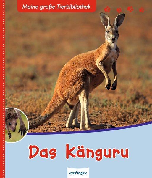Meine große Tierbibliothek: Das Känguru (Mängelexemplar)