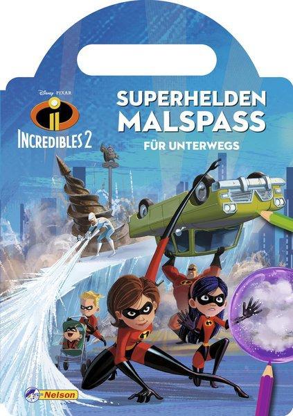 Disney Die Unglaublichen 2: Superhelden-Malspaß für unterwegs (Mängelexemplar)